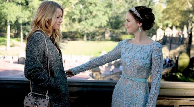 The wedding dress Elie Saab Blair Waldorf (Leighton Meester