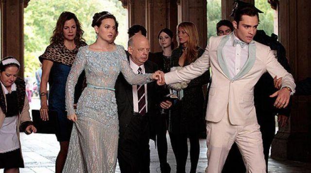 La robe portée par Blair Waldorf (Leighton Meester) dans Gossip Girl Saison 6 Episode 10