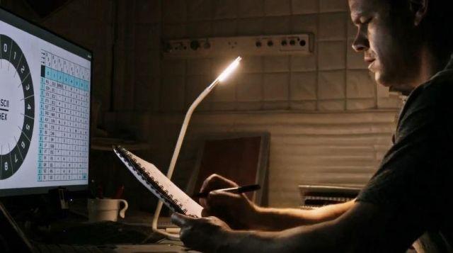 Lamp Ikea Of Mark Watney Matt Damon In A Single On March