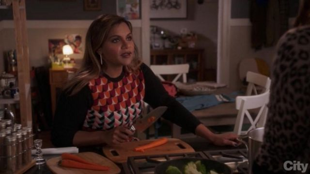 the pull of Mindy Lahiri (Mindy Kaling) in The Mindy project