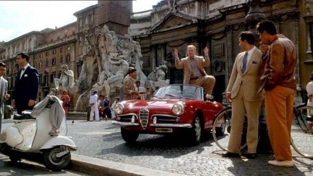 The 1955 Alfa Romeo Giulietta Spider  in The Talented Mr. Ripley