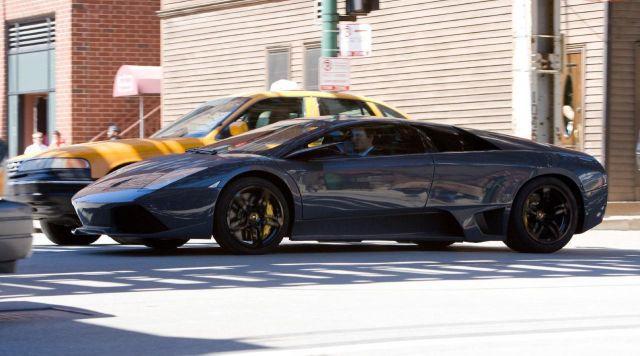 The Lamborghini Murcièlago LP640 of Bruce Wayne in The Dark Knight