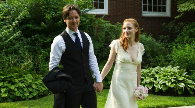 The Wedding Dress Of Eleanor Rigby Jessica Chastain In