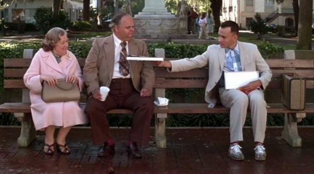 san francisco 69614 351e5 The shoes Nike Classic Cortez Forrest Gump (Tom Hanks) in ...