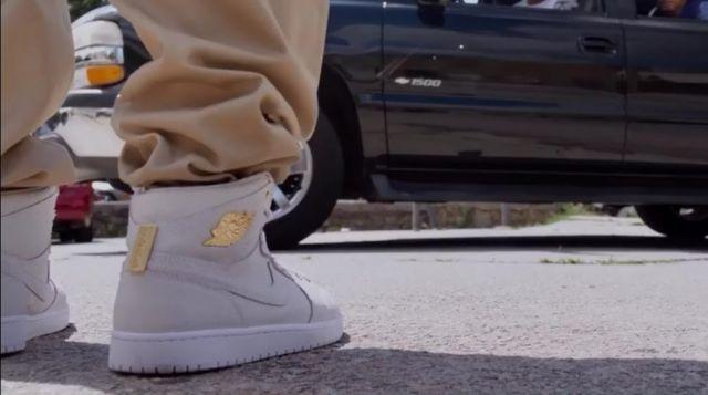 quality design ab72c c7386 Sneakers Nike Air Jordan 1 Pinnacle White in the Babershop ...