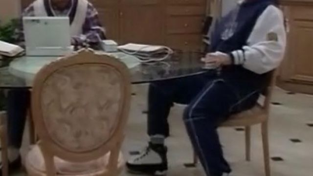 check out b94cc 89968 Will Smith's Air Jordan 9 as seen on The Fresh Prince of Bel ...