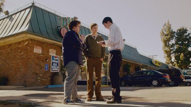 Shoes low Vans of Seth (Jonah Hill) in Supergrave / Superbad