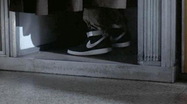 La paire de sneakers Nike Vandal Hi Top de Kyle Reese (Michael Biehn) dans Terminator