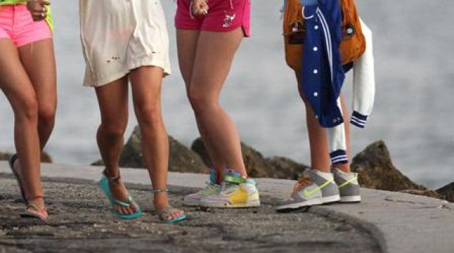 Les sneakers Nike 6.0 Dunk High dans Springbreakers