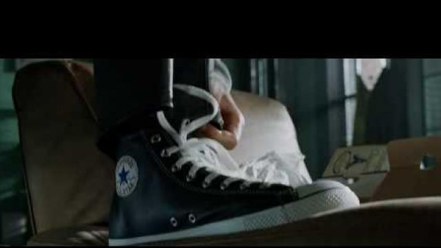 les chaussures Converse all star black de Will Smith dans I
