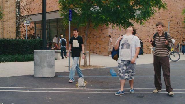 Sneakers Vans blue Seth (Jonah Hill) in Supergrave / Superbad