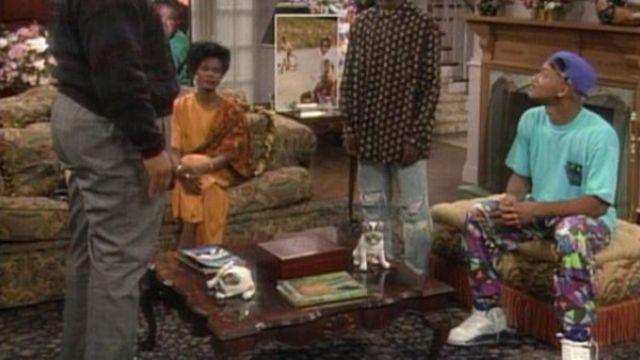 sports shoes de490 9435e Sneakers Nike Air Jordan 5 Grape Will Smith in prince of Bel ...