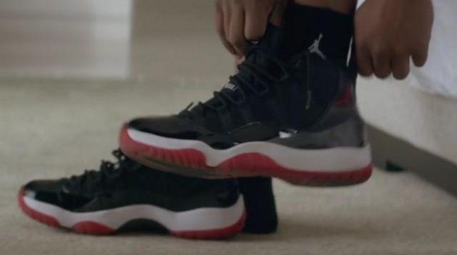 Nike shoes Jordan 11 of Adonis (Michael B. Jordan) in Creed