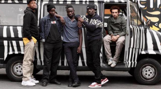 les bakets Nike air de Jackee Toto dans La fine équipe