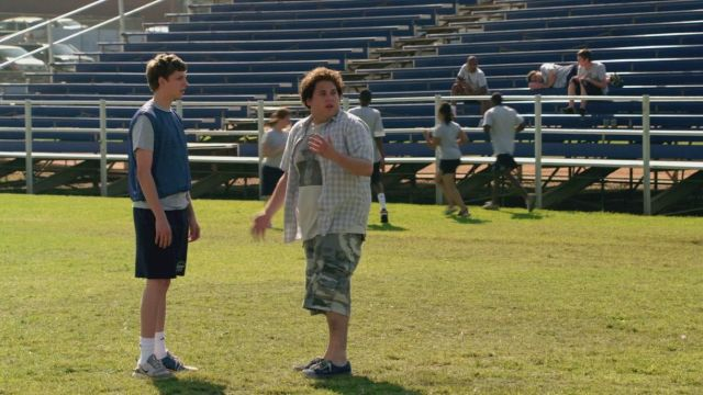 The Vans shoes of Seth (Jonah Hill) in Supergrave / Superbad