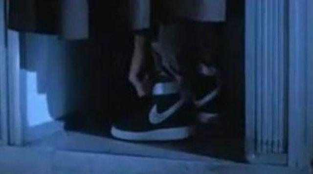 Les chaussures Nike Vandals noires de Kyle Reese dans