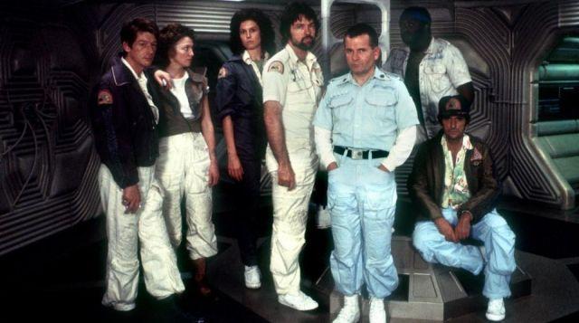 Les chaussures Converse All Star de l'équipage dans Alien, le huitième passager