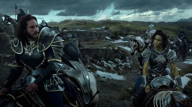The Costume Of Garona Miorque Paula Patton In Warcraft The