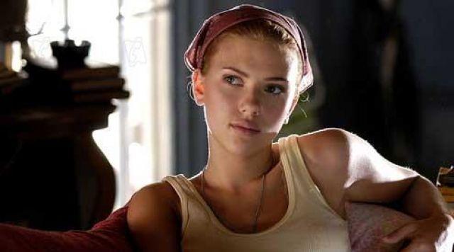 The bandana of Pursy Will (Scarlett Johansson) in Love Song