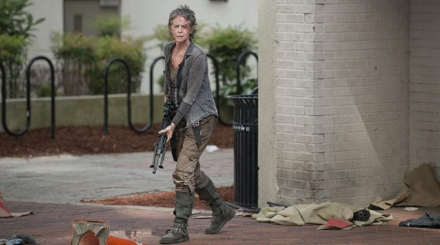 great look new cheap pretty cheap Boots Dr. Martens, Carol Peletier (Melissa McBride) in The ...