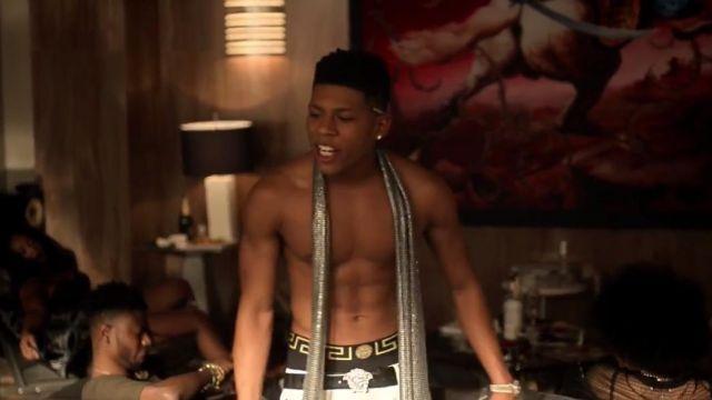 Le boxer Versace de Hakeem Lyon (Bryshere Y. Gray) dans Empire S03E12