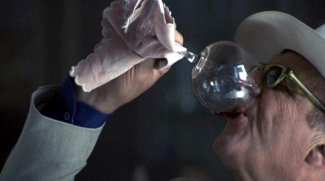Les lunettes de soleil Cutler and Gross de Hannibal Lecter (Anthony Hopkins) dans Hannibal