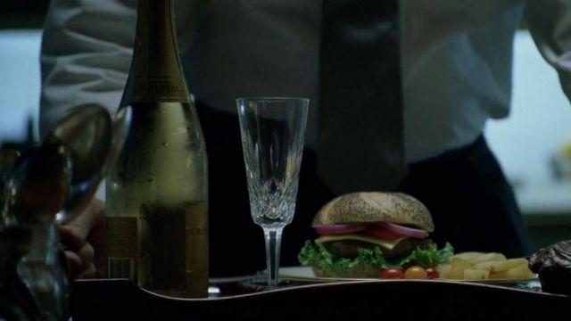 La bouteille de Louis Roederer Cristal 1996 de Nicholas Van Orton (Michael Douglas) dans The Game