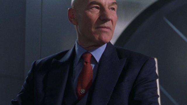 The badge of the X-Men's Professor Xavier in X-Men