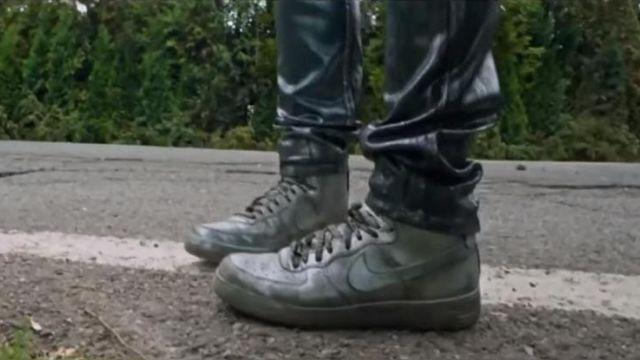 Sneakers Nike silver Quicksilver (Evan Peters) in X-Men