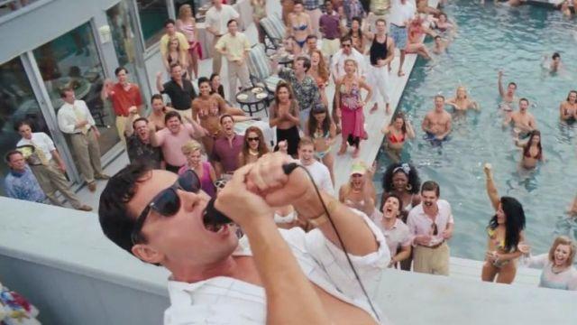 The Ray-Ban 4147 of Jordan Belfort (Leonardo DiCaprio) in The wolf of Wall Street