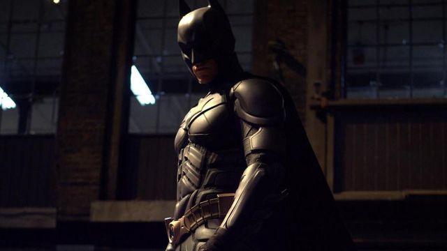 The belt of Batman (Christian Bale) in The Dark Knight Rises