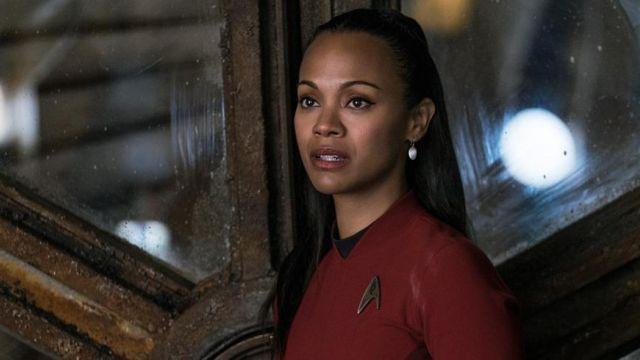 The Uniform Of The Starfleet Red Nyota Uhura Zoe Saldana