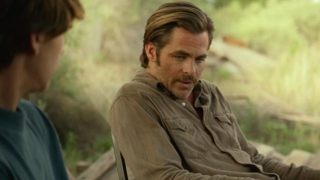 The Shirt Toby Chris Pine In Comancheria Spotern