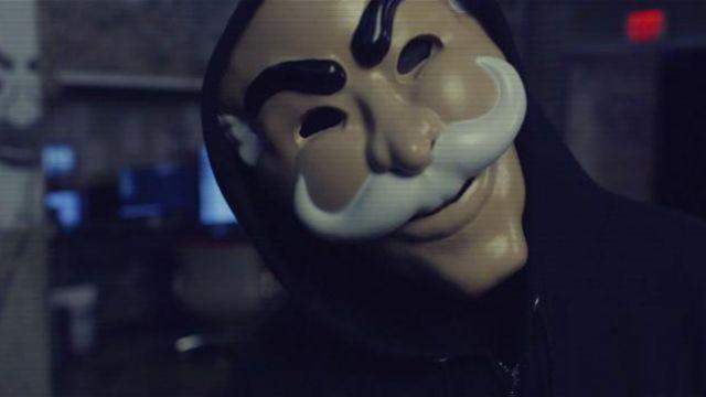 Le masque fsociety dans Mr Robot | Spotern
