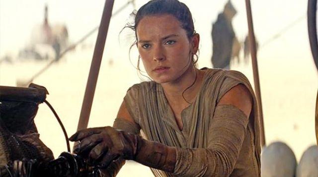 Star Wars VII The Force Awakens Rey Daisy Ridley Halloween Cosplay