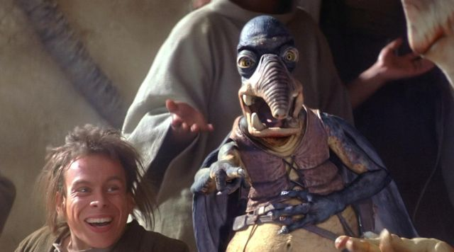 The mask is latex Watto in Star Wars I : The phantom menace | Spotern