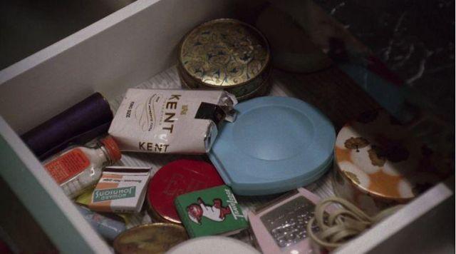 Don Draper's (Jon Hamm) kent cigarettes in Mad Men S01E04