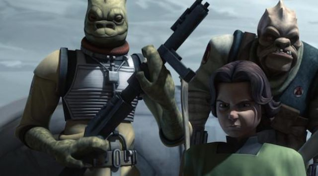 The Hands Of Bossk In Star Wars The Clone Wars Spotern