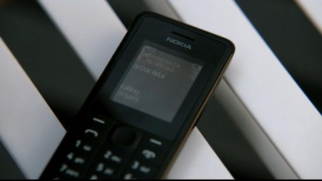 The Nokia phone seen in Homeland