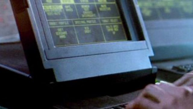 Le GRiD Compass des Marines dans Aliens, le retour