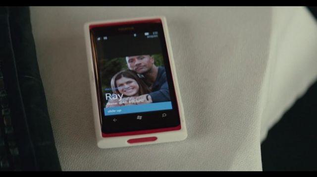 The smartphone Nokia Lumia seen in San Andreas