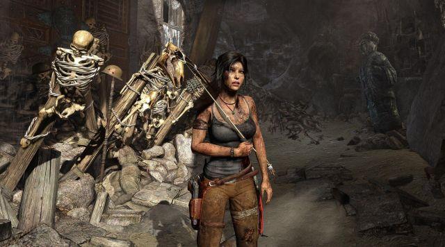 The Ice Axe Of Lara Croft In Tomb Raider 2013 Spotern