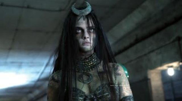 The diademe of The Enchantress (Cara Delevingne) in Suicide Squad