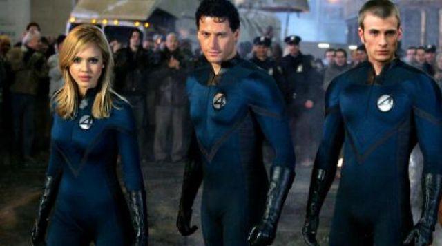 L'uniforme bleu de Susan Storm / La Femme invisible (Jessica Alba) dans Les 4 Fantastiques
