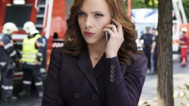 The jacket from the tailor of Natasha Romanoffs (Scarlett Johansson) in Captain America : Civil War