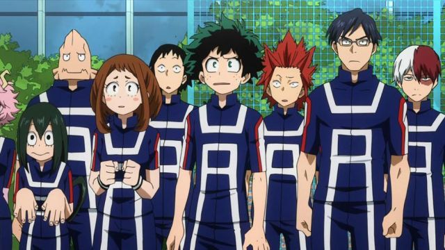 La tenue de sport de Yuei dans My Hero Academia | Spotern