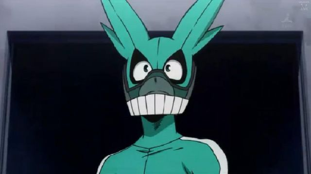 The Mask Of Izuku In My Hero Academia Spotern