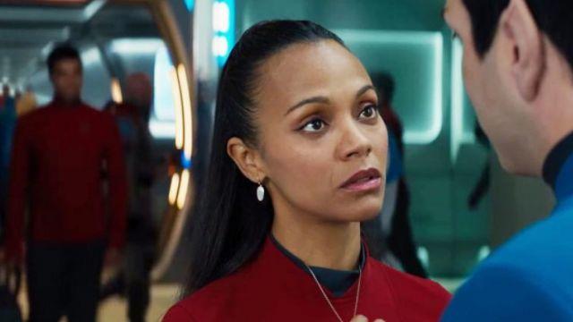 The Earrings Of Lieutenant Uhura Zoe Saldana In Star Trek