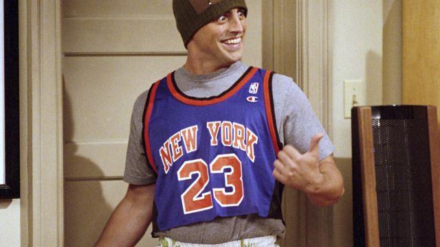 brand new f0d8f 028de Jersey Knicks Joey Tribianni (Matt Leblanc) in Friends ...