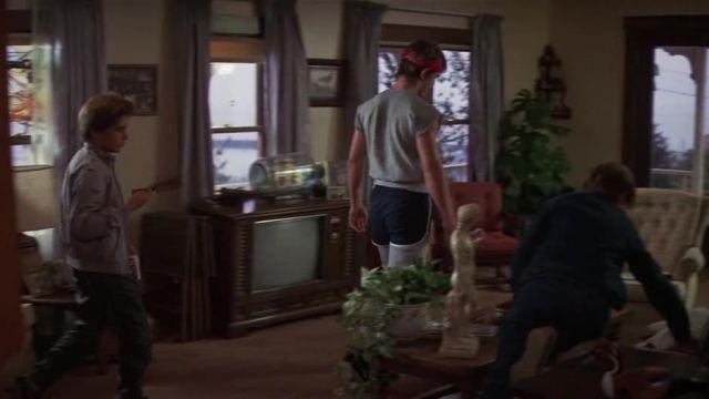 Shorts navy blue Brand / Brandon Walsh (Josh Brolin) in The Goonies